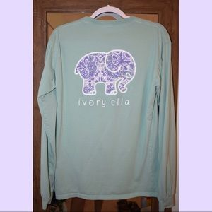 ivory ella long sleeve tee